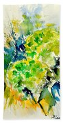Watercolor 017050 Beach Towel