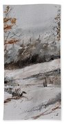 Watercolor 017051 Beach Towel
