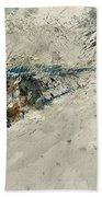 Watercolor 018001 Beach Towel