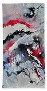 Watercolor 0410563 Beach Towel