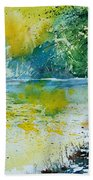 Watercolor 051108 Beach Towel