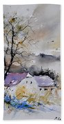 Watercolor 112012 Beach Towel