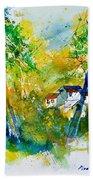 Watercolor 115021 Beach Towel
