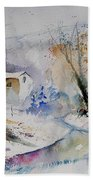 Watercolor 15823 Beach Towel