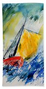 Watercolor 280308 Beach Towel