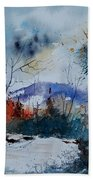 Watercolor 802120 Beach Towel