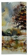 Watercolor 900152 Beach Towel