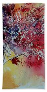 Watercolor 901181 Beach Towel