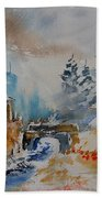Watercolor  902102 Beach Towel