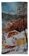Watercolor  902113 Beach Towel