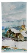 Watercolor  908011 Beach Towel