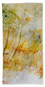 Watercolor  908012 Beach Towel