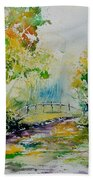 Watercolor  908020 Beach Towel