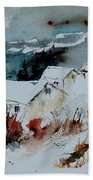 Watercolor  9090723 Beach Towel