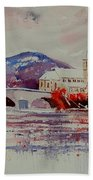 Watercolor Anseremme Beach Towel