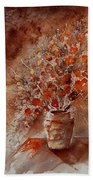 Watercolor Autumn Bunch Beach Towel