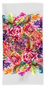 Watercolor Garden IIi Beach Towel