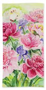 Watercolor Series 153 Beach Towel