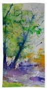 Watercolor Spring 2016 Beach Towel
