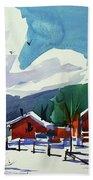 Watercolor_3483 Beach Towel