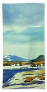 Watercolor3798 Beach Towel