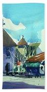 Watercolor3823 Beach Towel