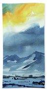 Watercolor3987 Beach Towel