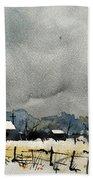 Watercolor7232 Beach Towel