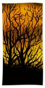 Watercolour Sunset Beach Towel