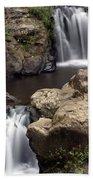 Waterfall 54 Beach Towel
