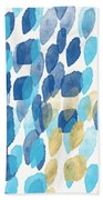 Waterfall- Abstract Art By Linda Woods Beach Towel