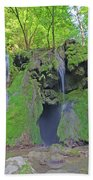 'waterfall Beach Towel