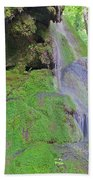 Waterfall Details Beach Towel