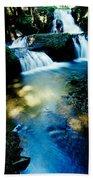 Waterfall Hilo Hi Beach Towel