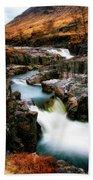 Waterfall In Glencoe Beach Towel