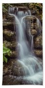 Waterfall In The Opryland Hotel Beach Towel