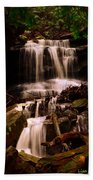 Waterfall Mcconnells Mills State Park Beach Towel