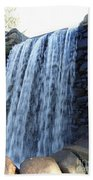 Waterfall Of The Grist Mill Beach Towel