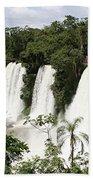 Waterfall Wonderland Beach Towel