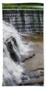 Waterfalls Cornell University Ithaca New York 06 Beach Towel