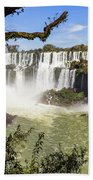 Waterfalls In Frame Beach Towel