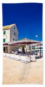 Waterfront Promenade Og Town Primosten Beach Towel