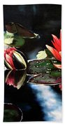 Waterlilly Beach Towel