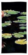 Waterlily Panorama Beach Sheet