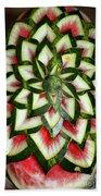 Watermelon Art Beach Towel
