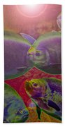 Waters Abound Beach Towel