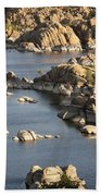 Watson Lake Adventures Beach Towel