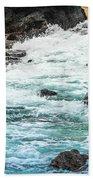 Wave Action Beach Towel