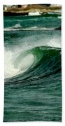 Wave Curl Beach Towel