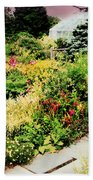 Wave Hill Conservatory Beach Towel